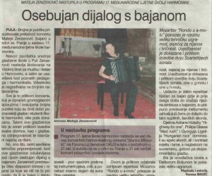 Press - Osebujan dijalog s bajanom